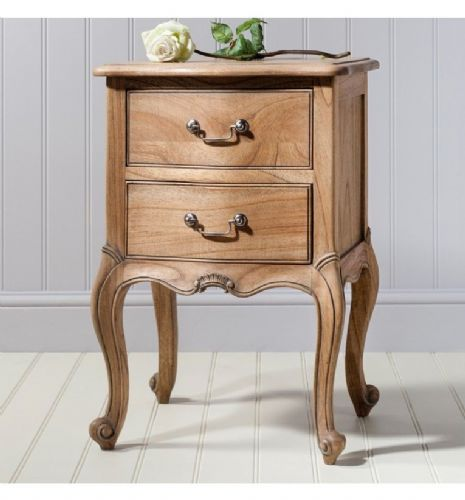 Chic Bedside Weathered Finish